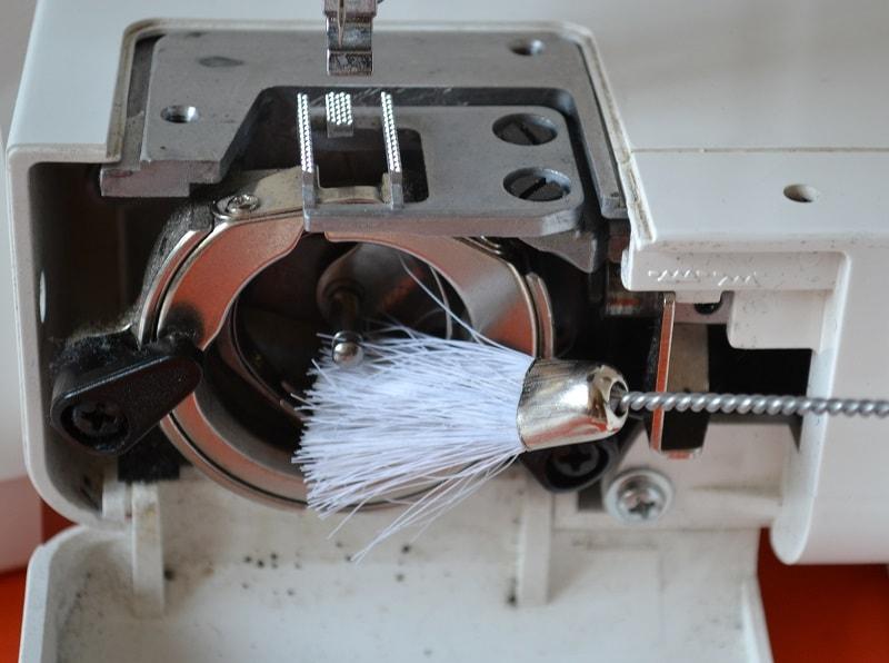 Чистка машинки